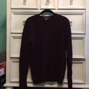 Sweaters - Plum knitted sweater